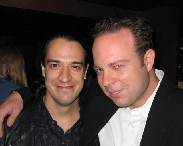 Andrew Sherman and Mason Pettit