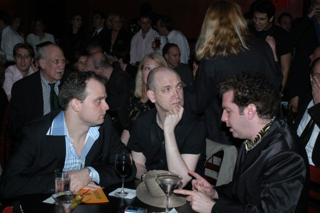 Carl Andress, Charles Busch, Peter Sherwood (back George Martin, Chris Orbach)