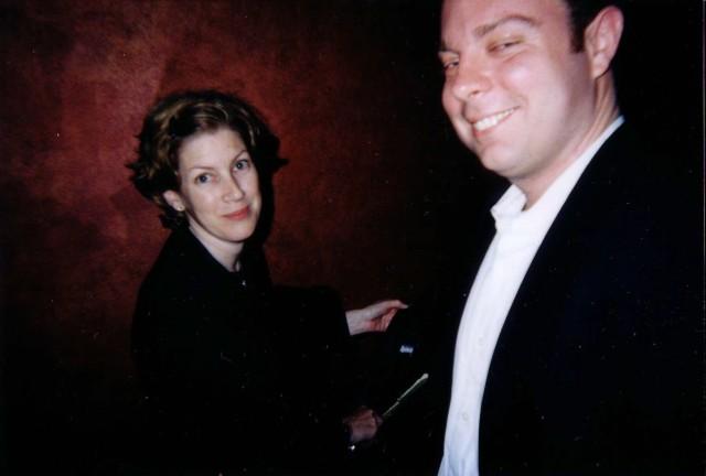 Cindy Kaplan and Mason Petit