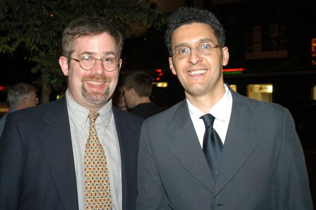 Jamie Magee and John Turturro