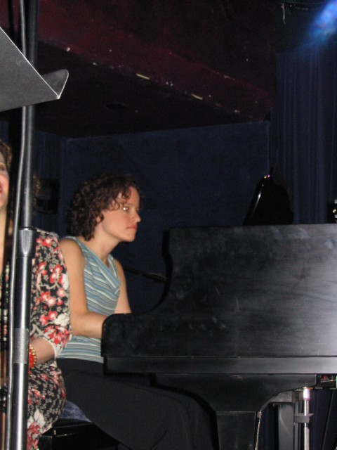 Lynne Shankel at the Piano