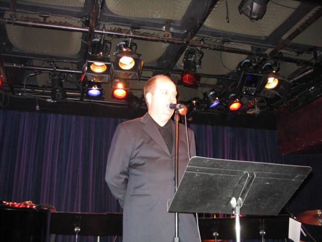 Steve Olsen intros the show