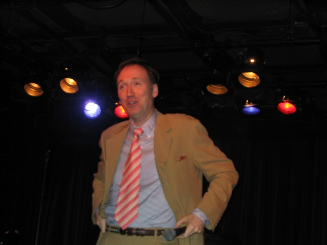 Tom Shillue at the Late Show